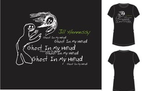 Image of GHOST IN MY HEAD T-SHIRT