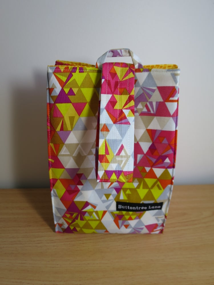 Image of Project sack - Shattered in pink
