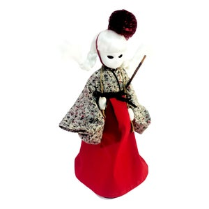 "Image of NEW 14"" 'Maeandri Grey' CUSTOM/COUTURE Little Apple Doll"
