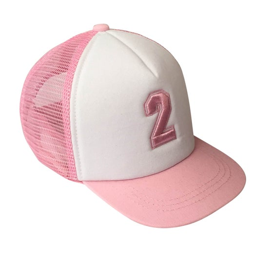 Image of Limited Edition - Pink Number 2 Trucker Hat