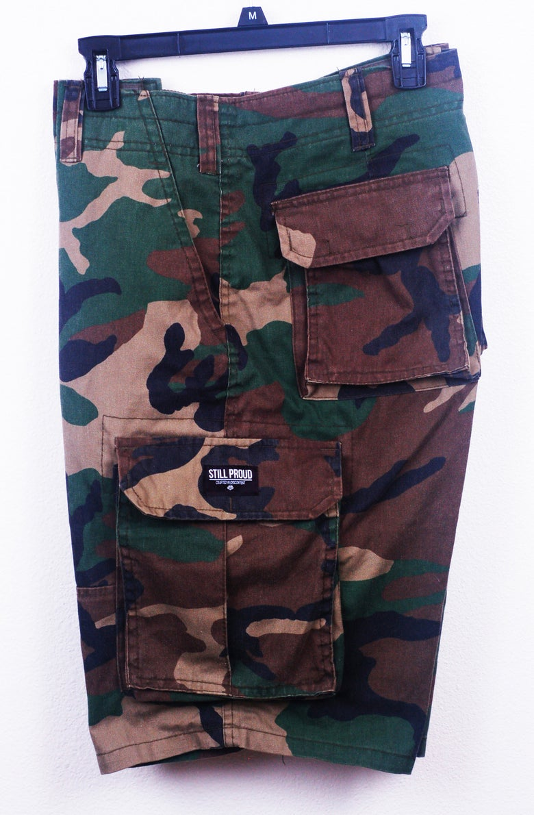 Image of Arsenal Cargo Shorts PRE-ORDERS