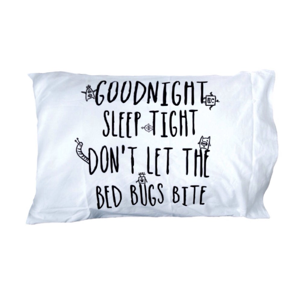 Image of BED BUG PILLOWCASE