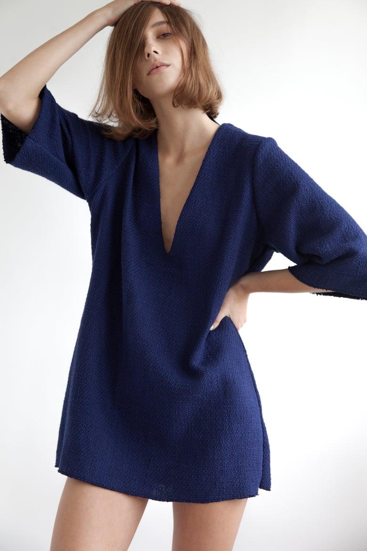 Image of V-NECK DRESS MINI