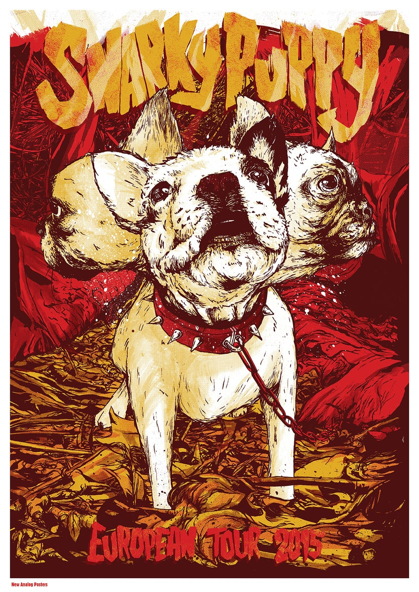 S And W >> Snarky Puppy / New Analog Posters