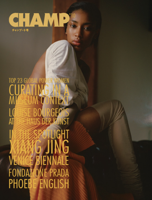 Image of ALA CHAMP MAGAZINE - ISSUE #10 - COVER 1˚