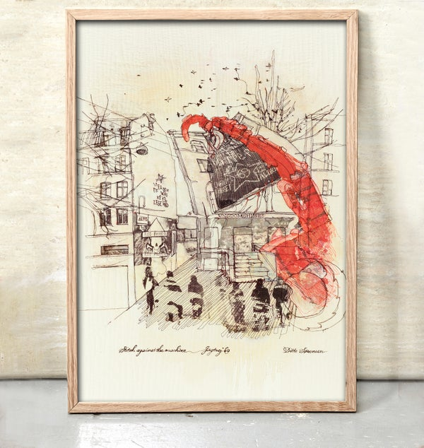 Image of Stitch against the machine - Jagtvej 69 - Limited Edition