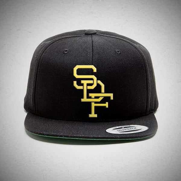 Image of Gold Stitch Snap Back