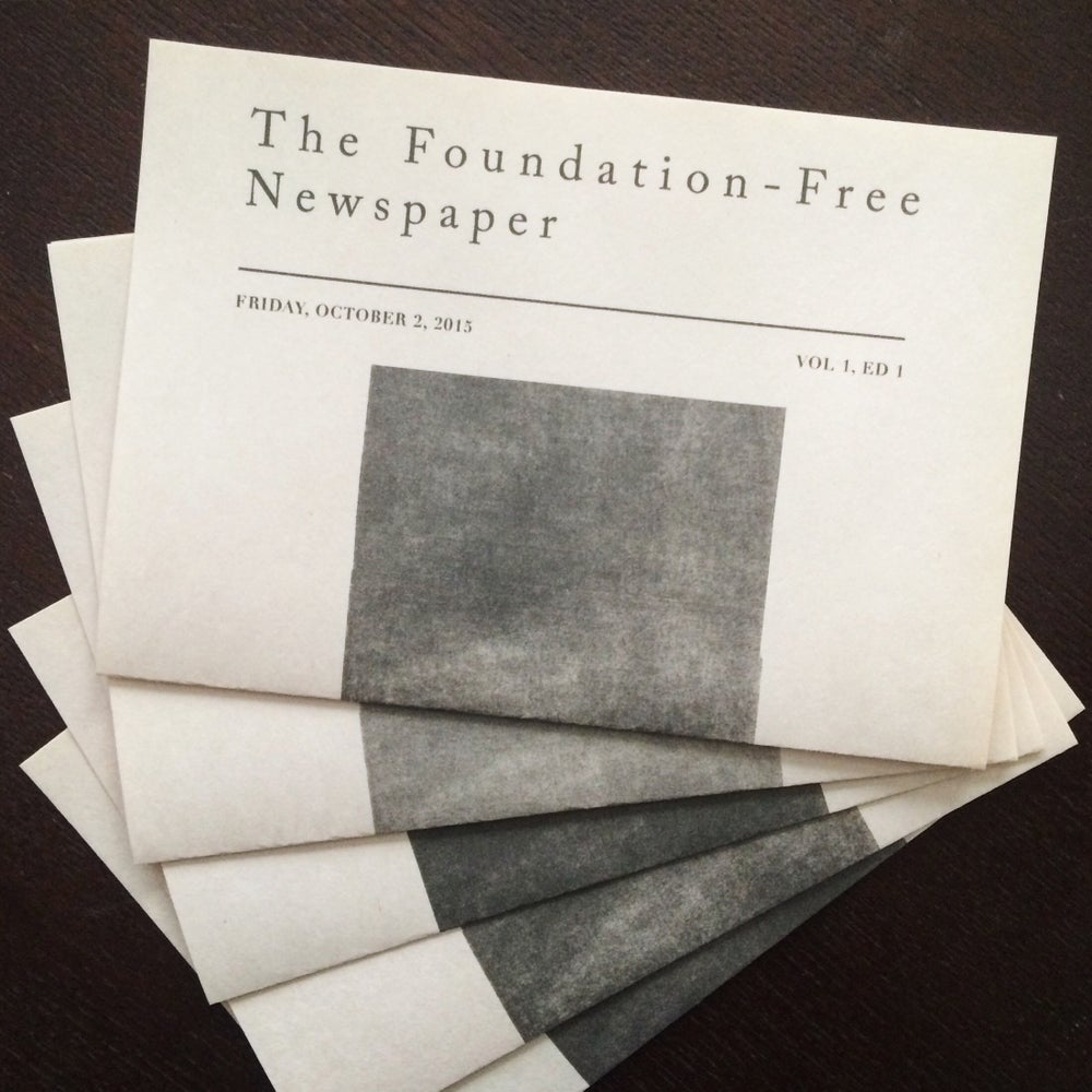 Image of The Foundation-Free Newspaper