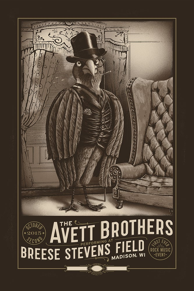 Image of The Avett Brothers Madison, WI. 2015