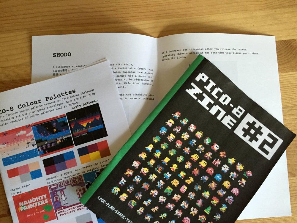 Image of Pico 8 fanzine #2