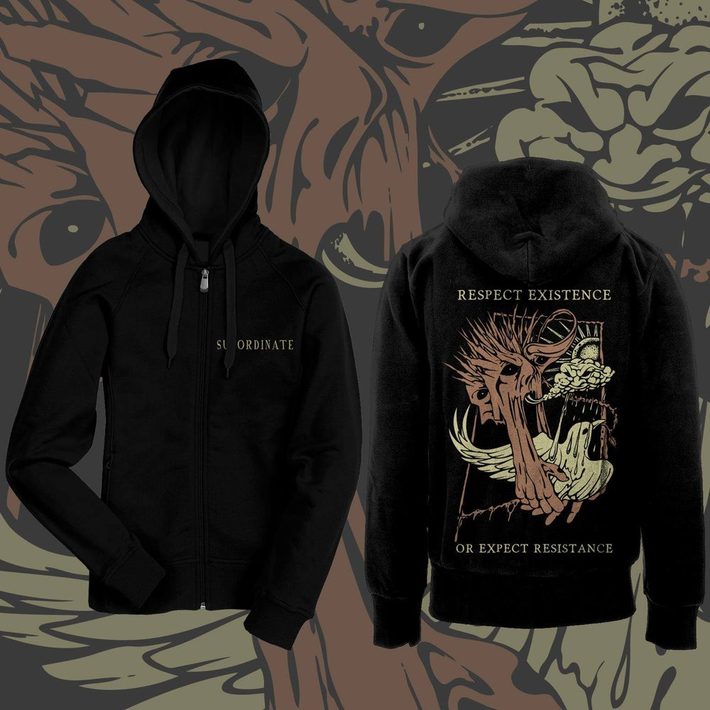 Image of Respect Existence Or Expect Resistance Hoodie