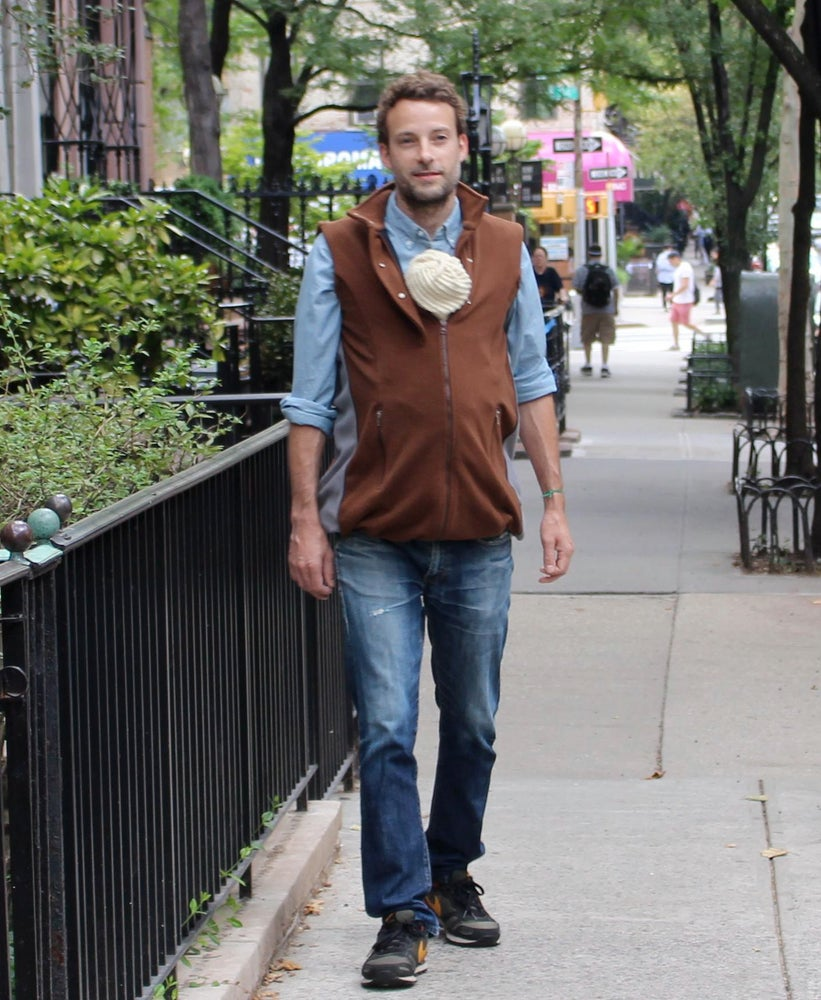 Image of Men's Booker Vest in Brown