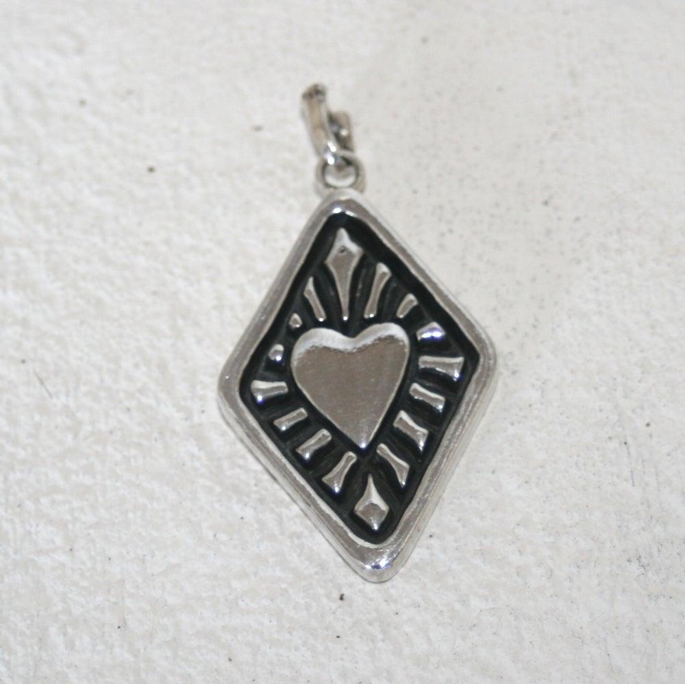 Sacred heart pendant pendant only binky bones sacred heart pendant pendant only aloadofball Images