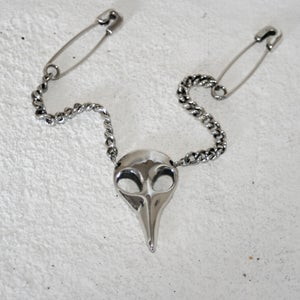 Image of Corvid Necklace (with interchangeable chains)