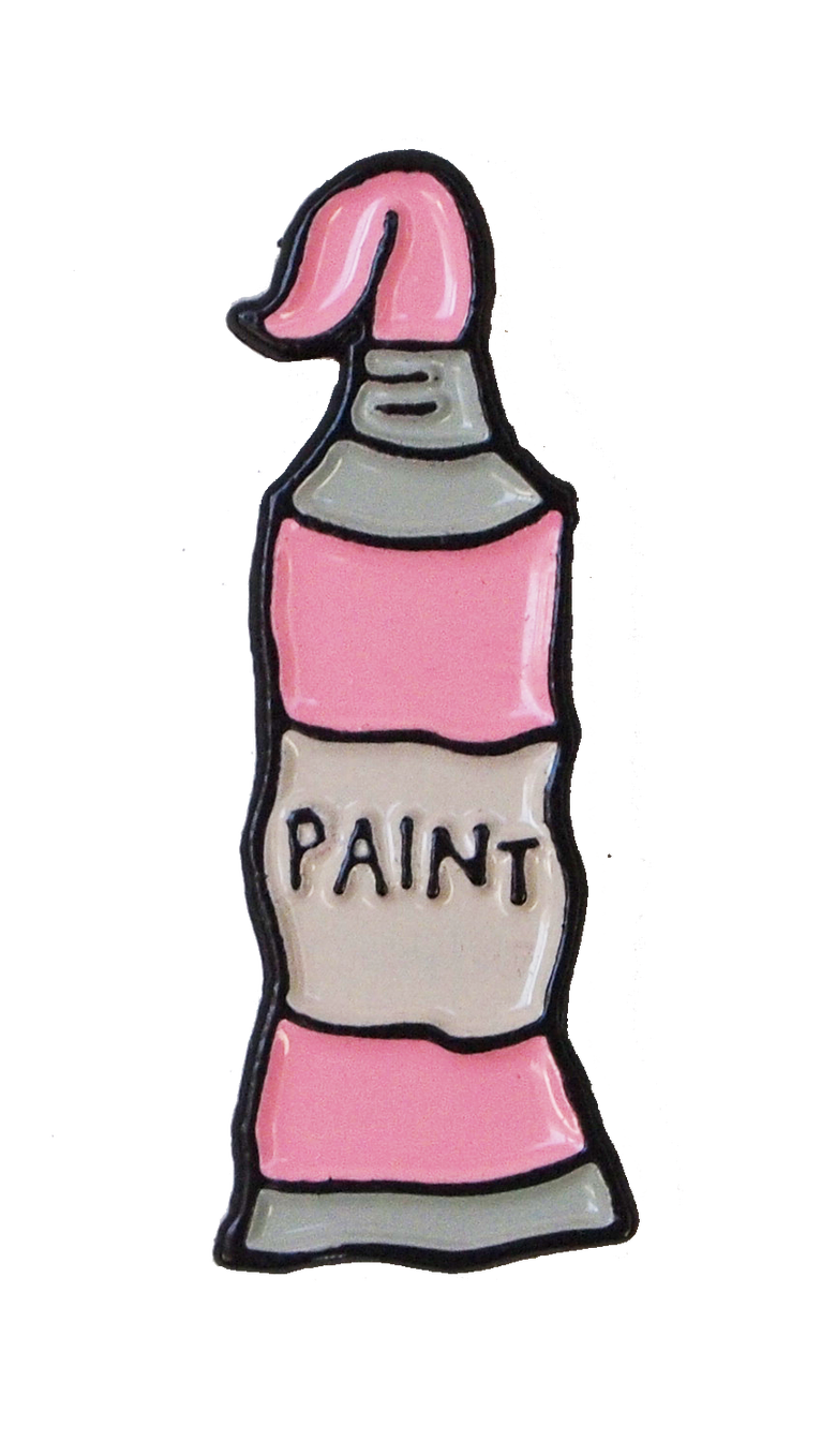 Image of PINK PAINT PIN