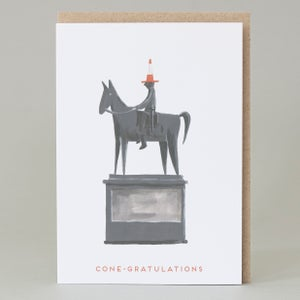 Image of 'Cone-gratulations' Card