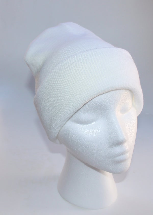 Image of White Beanie