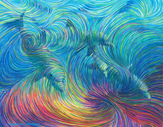 Image of Dolphin Healing Energy