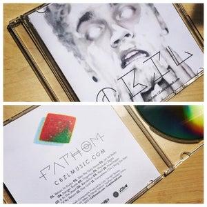 "Image of CBZL ""Fathom"" & ""Electric Entourage"" | CD & Reversable Cover Art"