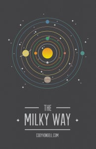 Image of The Milky Way | Illustrated Poster