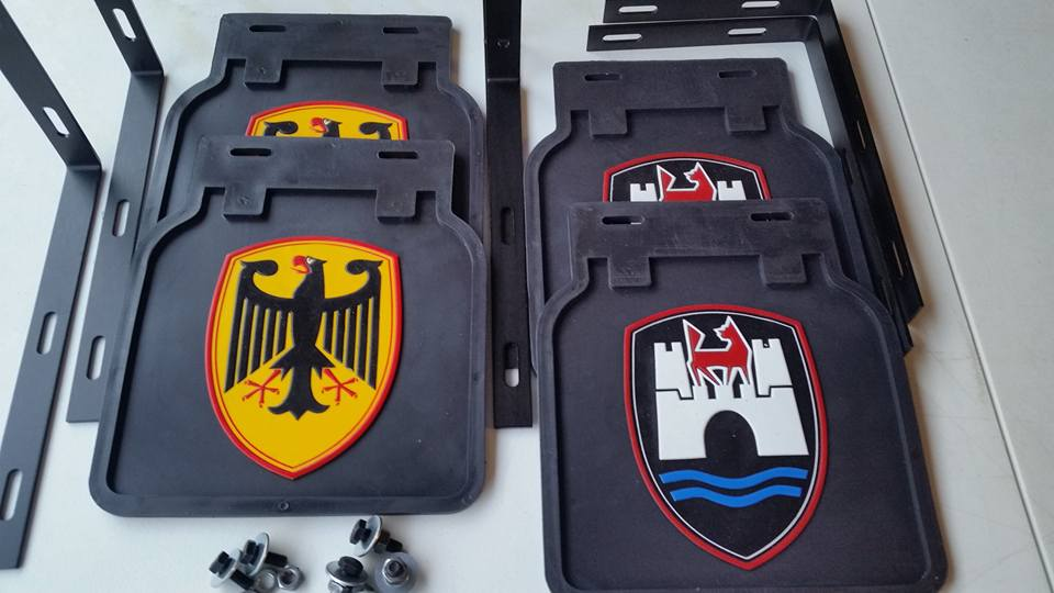 Image of CUSTOM MUD FLAPS (SET OF 2)