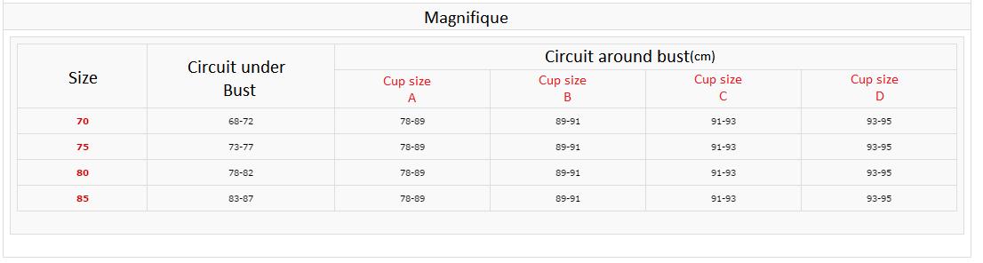 Image of Magnifique 2 Bra