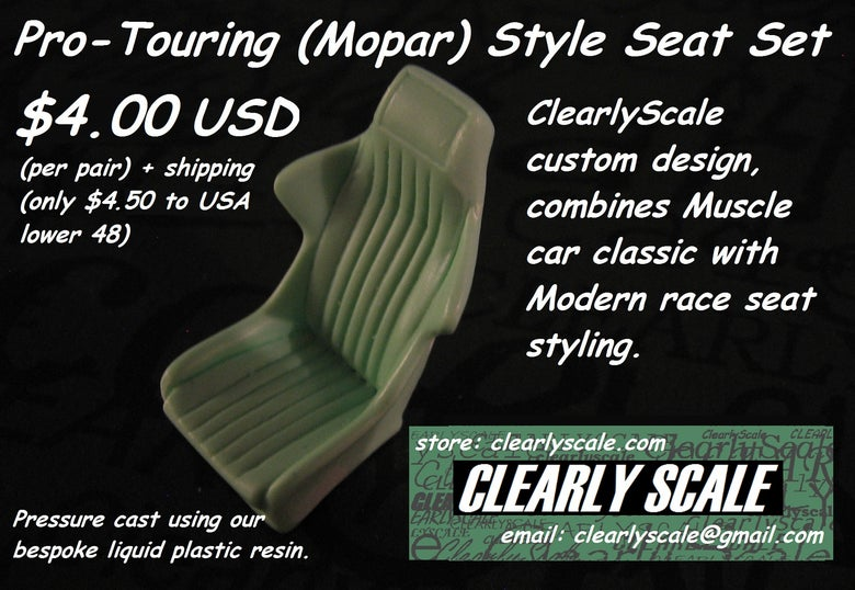 Image of Mopar ProTouring (ClearlyScale Custom) Design Seat Set
