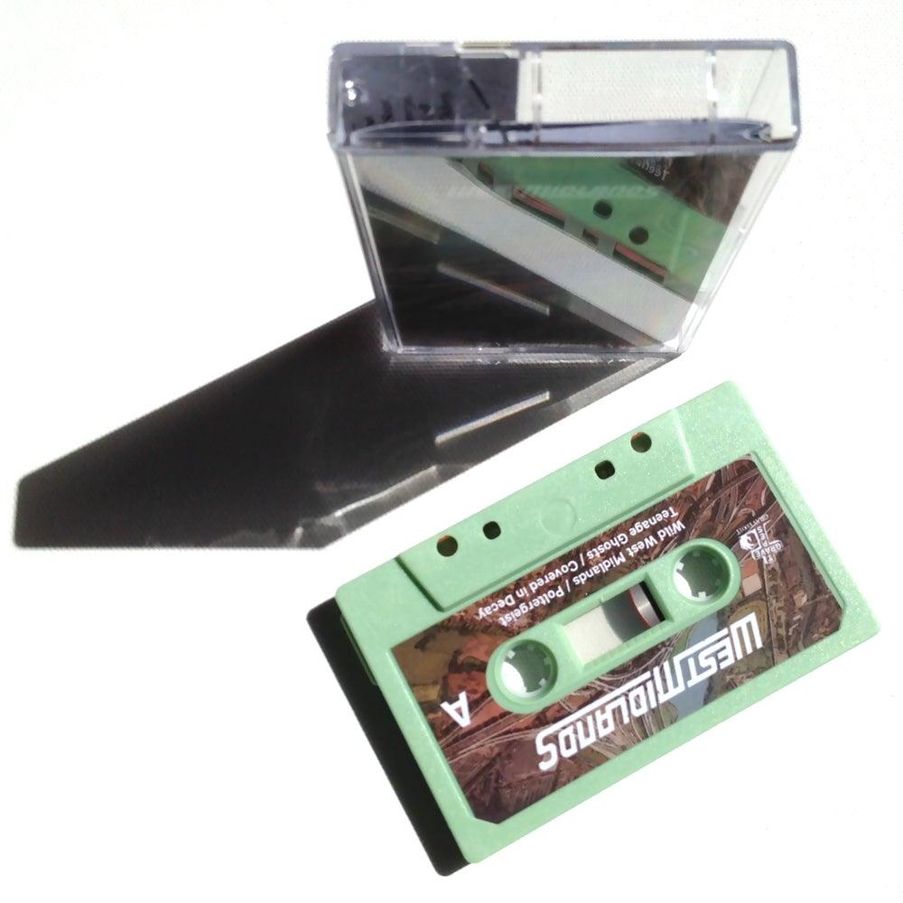 Image of WEST MIDLANDS - The West Midlands EP - Limited Edition 'Mint Aero' Cassette - (GRAVE 001T)