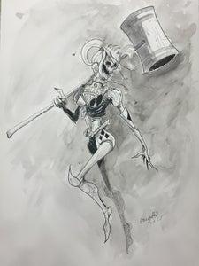 Image of Original Art Commission 11x17