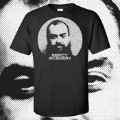 Image of PRE-ORDER: Mercy Academy T-Shirt: Mariachi Thrash Giant Jon Claude Van Silp