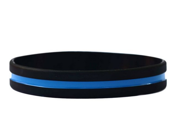Image of #BlueLivesMatter Wristband