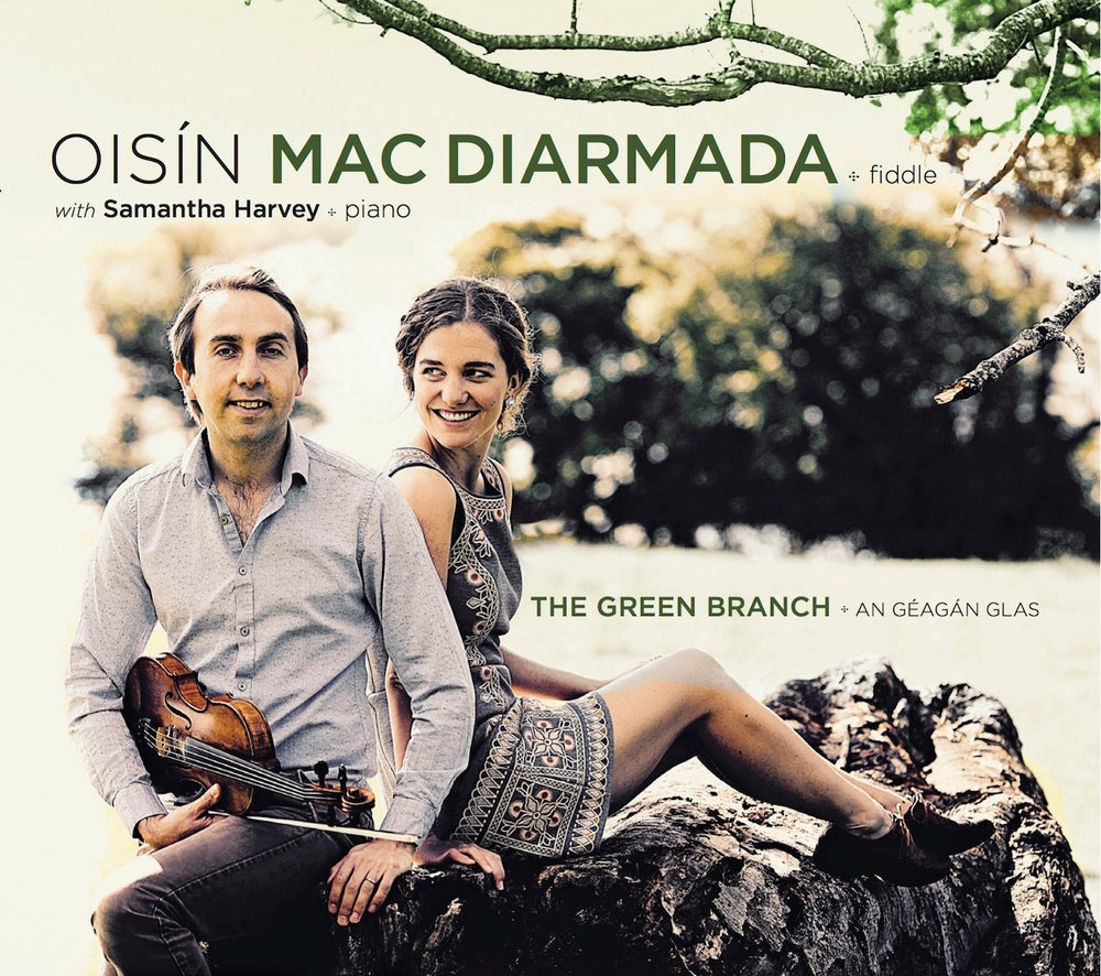 Image of CD: Oisín Mac Diarmada w/ Samantha Harvey - The Green Branch