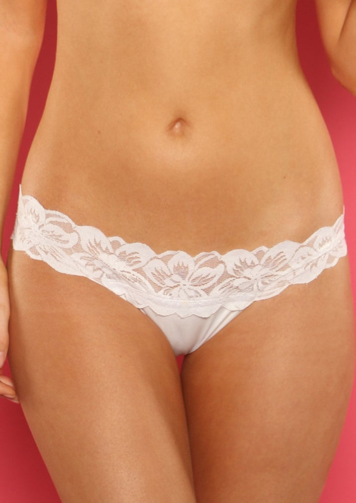 Image of Lace-Waist Bottom (Pick a Color) Also comes in a Lacey-Thong