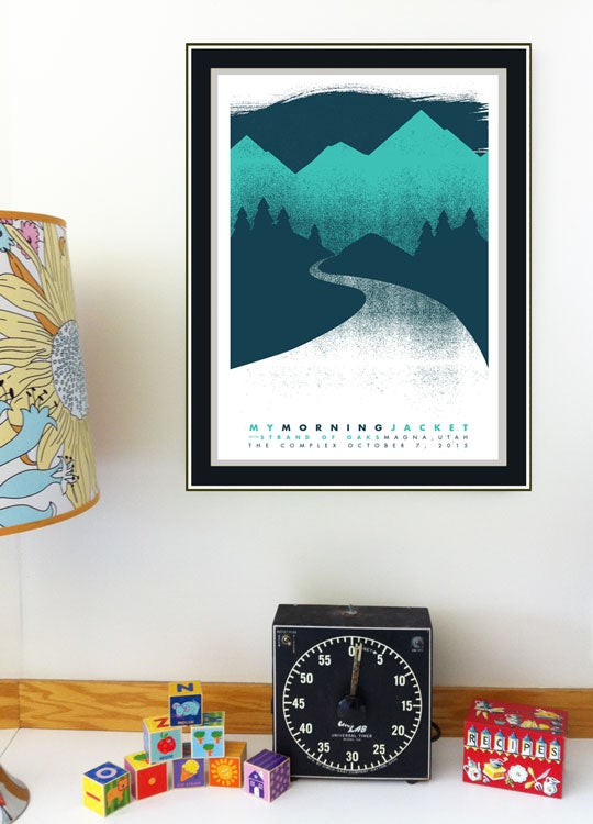 Image of My Morning Jacket Poster - Salt Lake City
