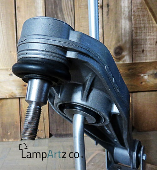 Image of Porsche 911 carrera lower control arm table or desk lamp lampe de bureau table
