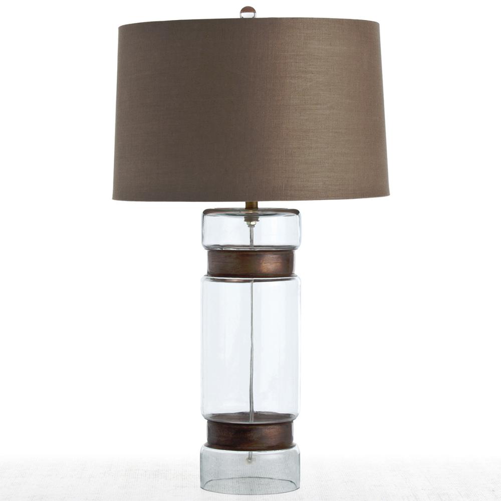 Image of Garrison Cylinder Table Lamp