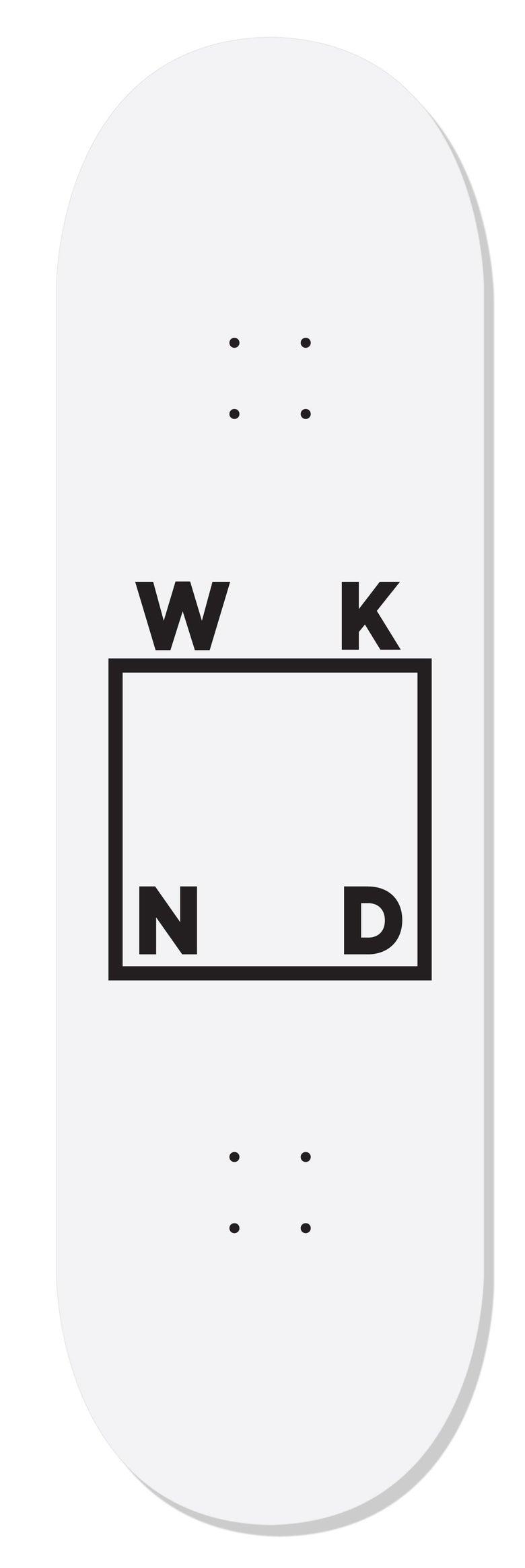"""Image of WKND Logo White - 8.0"""""""