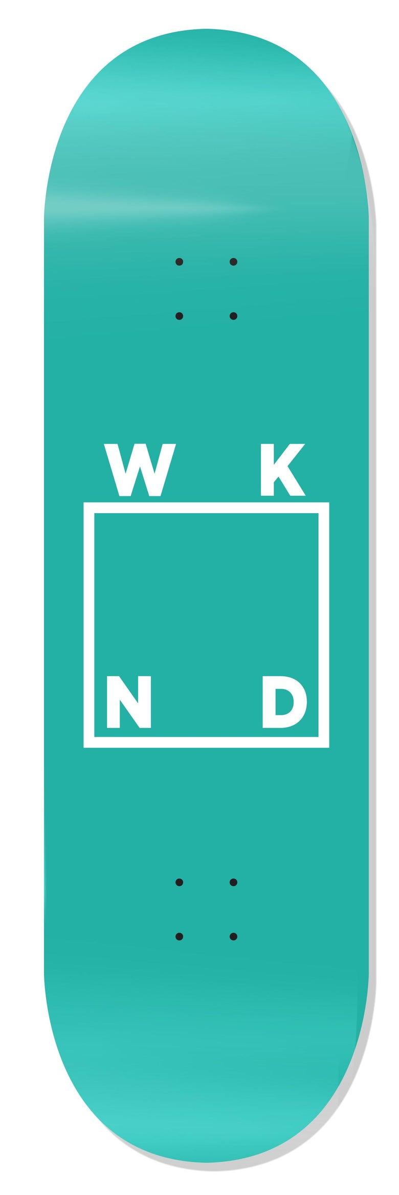 """Image of WKND Logo Aqua - 8.18"""""""