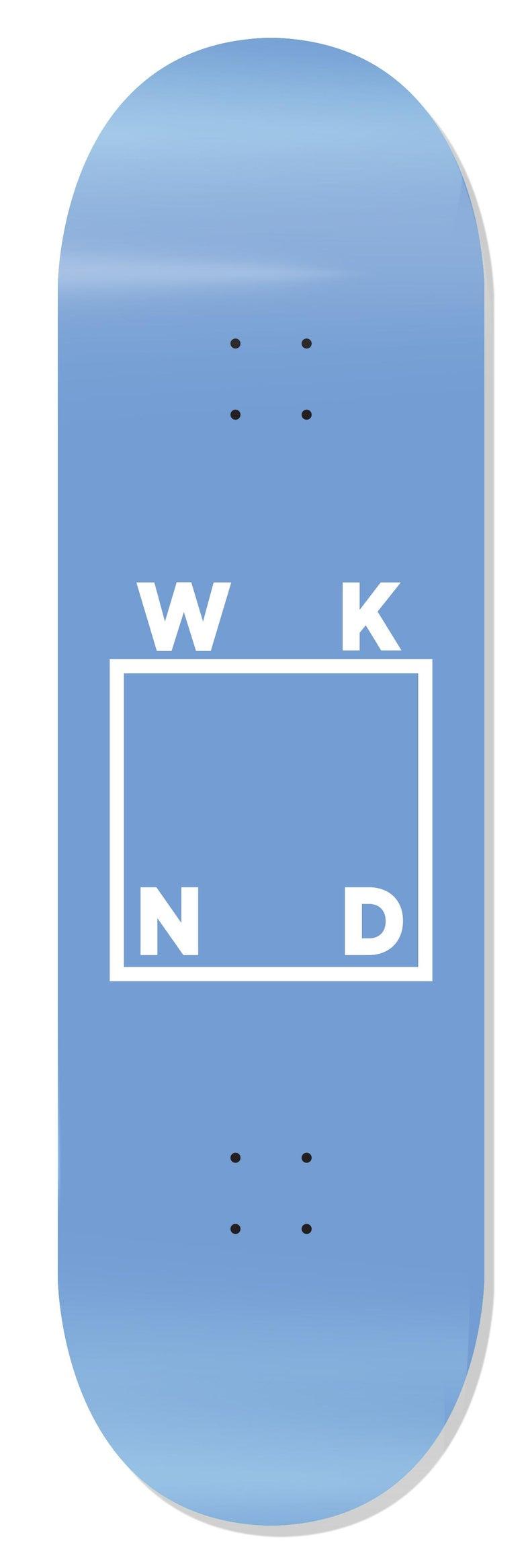 """Image of WKND Logo Soft Blue - 8.5"""""""