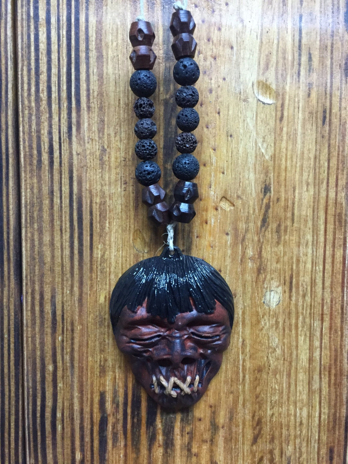 Image of Jivaro shrunken heads