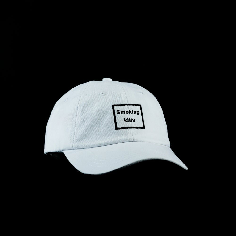 "Image of ""Smoking Kills"" Polo Cap"