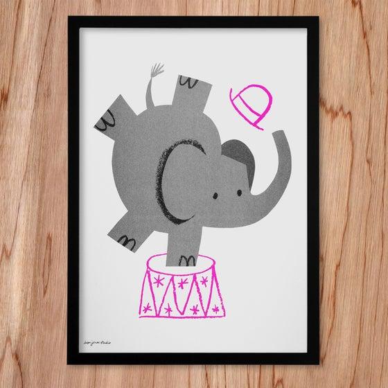 Image of Risograph | Elephant