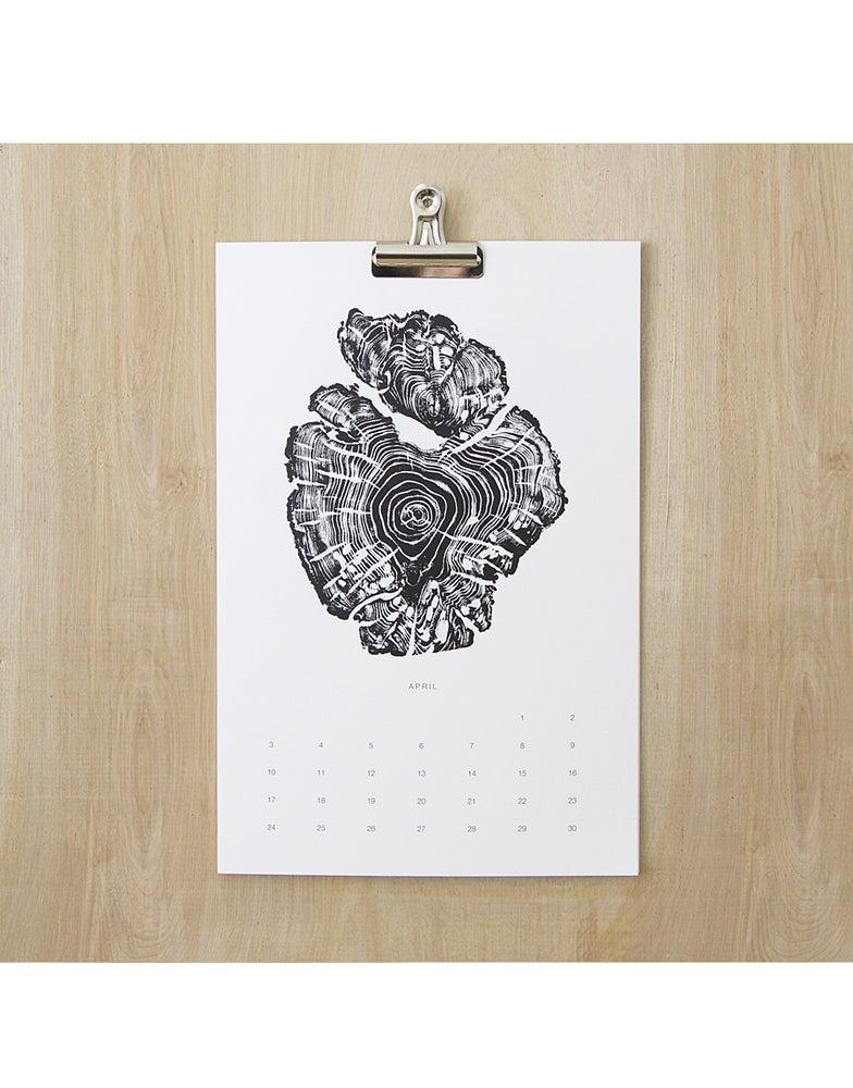 Image of <i>NEW</i><br>2017 Stump Print Calendar