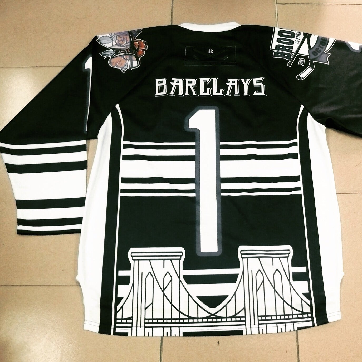 Image of BARCLAYS Inaugural Season Hockey Jerseys