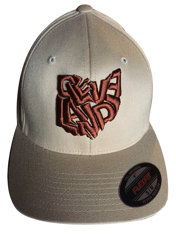 Image of Cleveland Ohio Hat Beige