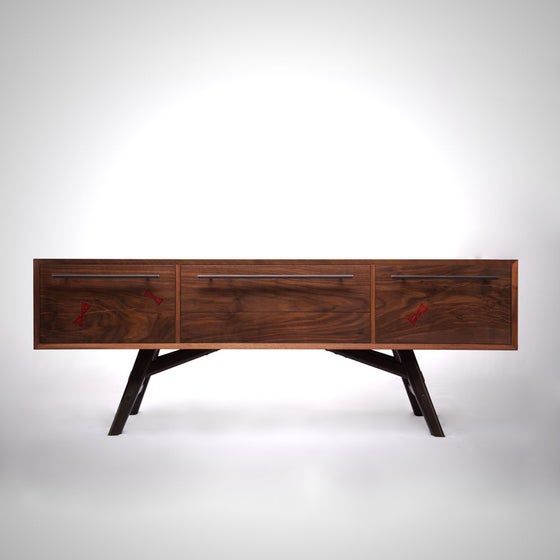 Image of Walnut Media Console