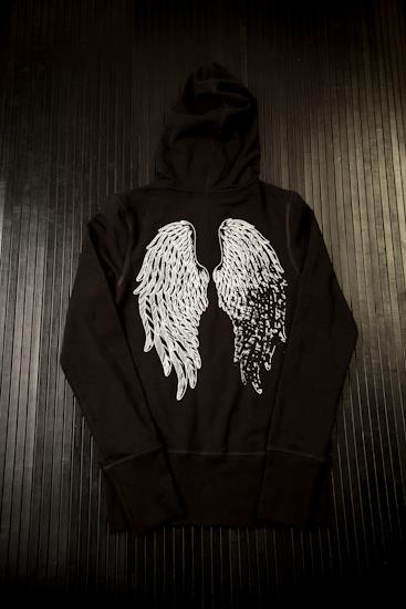 Image of Faded wing hoodie