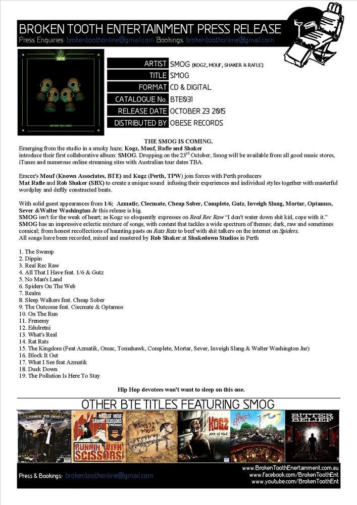 Image of SMOG - SMOG CD