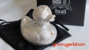 Image of Swarovski Fully Encrusted Diamond Duck.