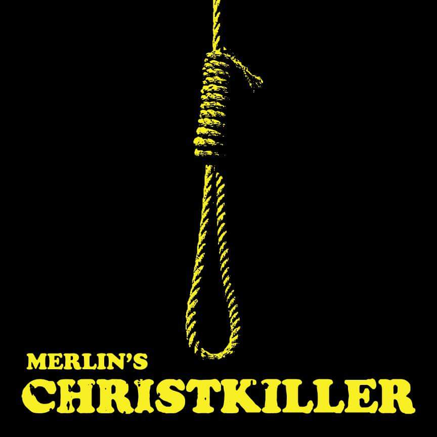 Image of Merlin: Christkiller Gallows Edition (Black w/Gold Splatter) 76 Copies